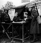 seconda guerra mondiale, tenda di ufficiali per consulenza e assistenza morale ai soldati, 1943