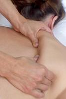 Massaging the Shoulder