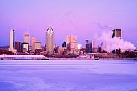 Montreal Skyline, Quebec