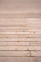 Line of Wooden Slats