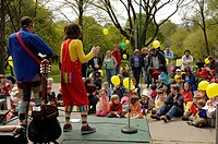 Children´s performers, Forsythia Festival, Toronto, ON