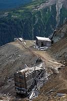 Old Mine Workings, Sweeney Mountain, BC