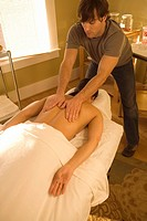 Patient Getting Back Massage