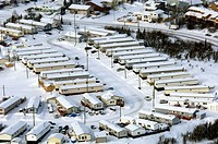 Manufactured Homes, Yellowknife, Northwest Territories
