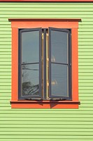 Window in Portland Oregon
