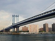 USA, New York, Manhattan Bridge