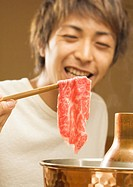 Man Eating Beef One-Pot