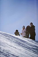 Three Snowboarders (thumbnail)
