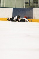 Fallen Hockey Players