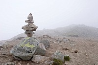 Stones on the top of the mountain, Tatra Mountains, Poland