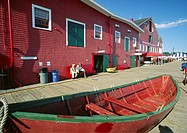 Fisheries Museum of the Atlantic in Lunenburg, Nova Scotia, Canada