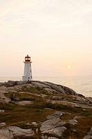 Peggy´s Cove lighthouse. Nova Scotia, Canada