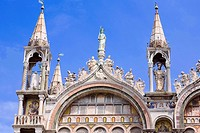 High section view of a cathedral, St  Mark's Cathedral, Venice, Italy