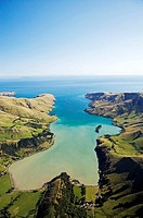 Port Levy, Banks Peninsula, Canterbury, South Island, New Zealand