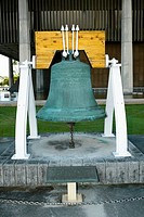 Close-up of a bell, Honolulu, Oahu, Hawaii Islands, USA