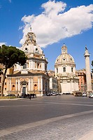 Cars parked in front of a monument, Vittorio Emanuele Monument, Piazza Venezia, Rome, Italy