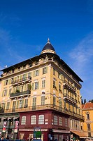Low angle view of a building, Nice, France