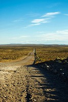 Road passing through a landscape, National Route 40, Patagonia, Argentina