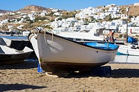 Boats on the beach, Greece