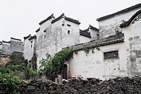 Ancient residence in Pingshan Village, Yixian County, Anhui Province, People's Republic of China