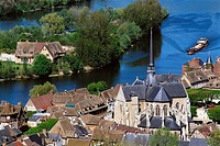 Petit-Andely, Les Andelys. Seine valley, Normandy, France