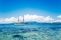 abroad, landscape, fiji