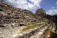 Edzná, Maya archaeological site. Campeche, Mexico