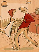 Man and woman dancing (thumbnail)