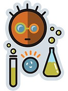 Scientist with lab equipment (thumbnail)