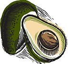 Sliced avocado (thumbnail)
