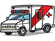 A picture of an ambulance