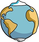 A graphic representation of the Earth (thumbnail)