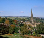 UK, England, Europe, Bakewell, Derbyshire, autumn, Derbyshire and Peak District, national park, United Kingdom, Great
