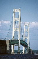 Mackinac Bridge. Michigan, USA