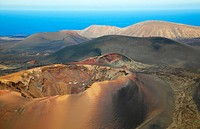 Timanfaya National Park, Lanzarote. Canary Islands, Spain