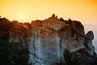 Saint Stephen's Convent, Met&#233;ora, Thessaly, Greece