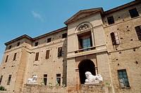Italy, Emilia Romagna, Soragna, Meli Lupi fort.
