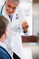 Doctor Talking to Patient about Medication