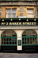 Baker Street, Stirling, Scotland, UK