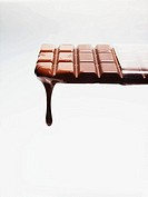 Melting chocolate bar (thumbnail)