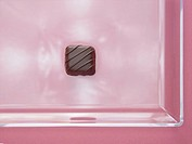 Square shaped chocolate