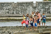 kids at benteng kalamata, Ternate, Indonesia