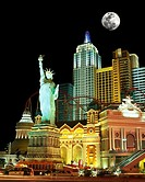 NEW YORK NEW YORK, HOTEL CASINO THE, STRIP LAS VEGAS, NEVADA, USA