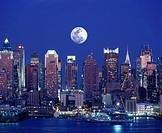 MIDTOWN SKYLINE, MANHATTAN NEW YORK,, USA