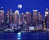 MIDTOWN SKYLINE, MANHATTAN, NEW YORK, USA