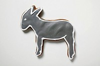 Christmas biscuit donkey