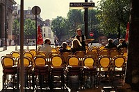 Street café in Paris