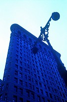 FLAT IRON BUILDING. 5TH AVENUE MANHATTAN. NEW YORK. USA