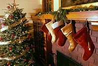 stockings,christmas room arts and crafts home. USA