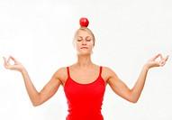 woman in balance